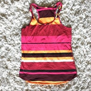 Lululemon Tank - colorful striped